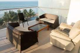Vendo departamento de lujo en Resort Playa Azul en Tonsupa