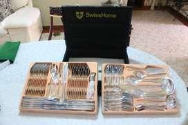 Set de Cubiertos 84 piezas SwissHome Dr. Hoffmann international MC-84