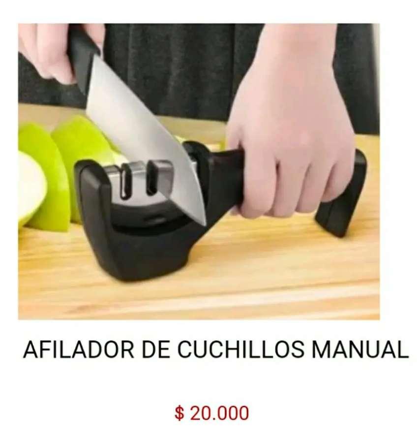 Amolador lima afilador de cuchillos manual maquina para sacar filo a cuchillas