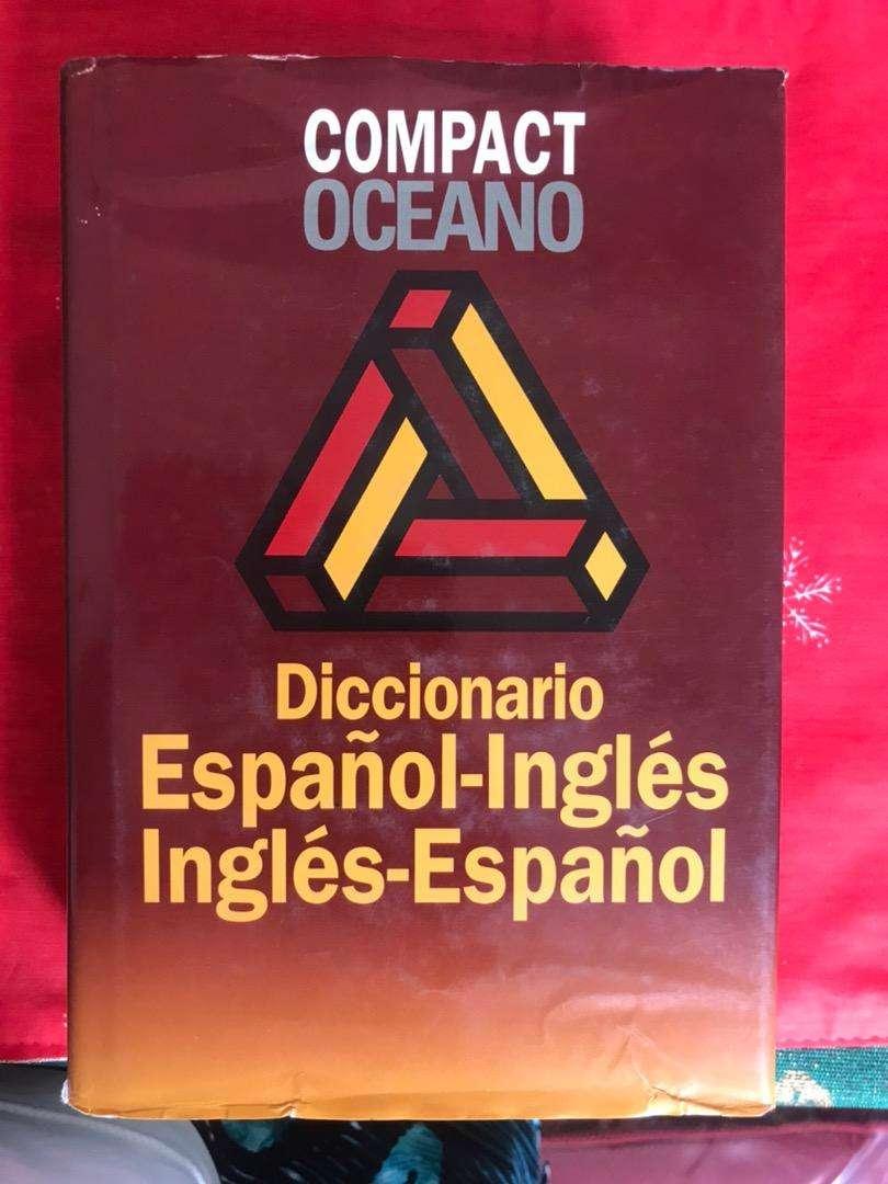 Doccionario OCEANO español-ingles, ingles español 0