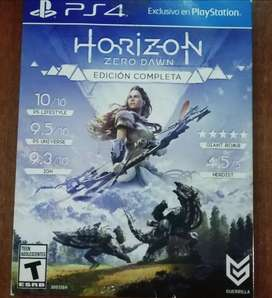 Juego ps4 Horizon Edición Completa