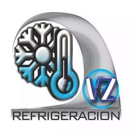 Carga de gas. Reparacion e instalacion de aire acondicionado