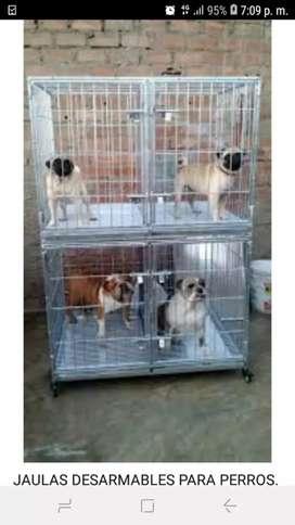 Jaulas para perro desarmables envios a provincias
