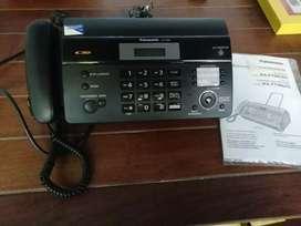 Vendo teléfono Fax nuevo.