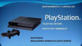 PS4 MANTENIMIENTO PREVENTIVO GUAYAQUIL