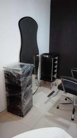 Muebles de Peluquería para estrenar