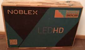 "TV LED 24"" HD NOBLEX ¡NUEVO!"