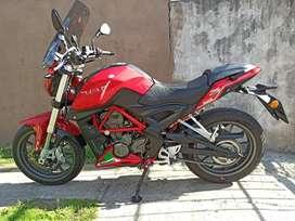 Vendo Benelli TNT 250cc 2019 Impecable