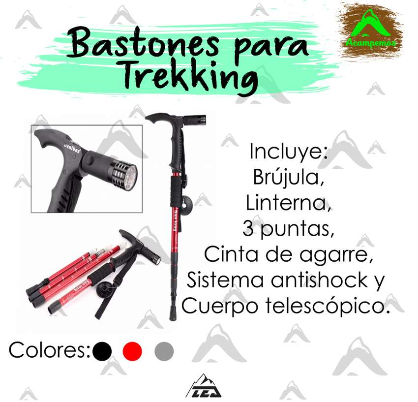 Bastones para trekking 0
