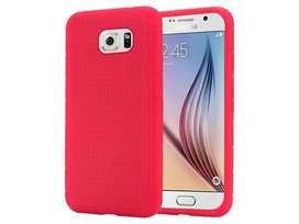 Funda TPU Termoplastico Rojo  Samsung S6