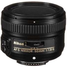 Lente Nikon 50 mm F-1-8G