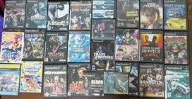 Juegos Ps2 0.75c/u ó  26 discos $15