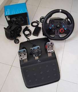 Timón Logitech G29 Driving Force PC, PLAYSTATION 3 & 4 + Palanca