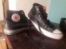 Zapatos Converse estilo Botines