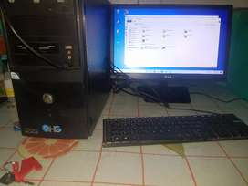 Pc de escritorio windows 10 2gigas de ram 500 de disco duro