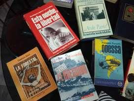 Vendo lote de 15 libros y novelas, excelentes títulos