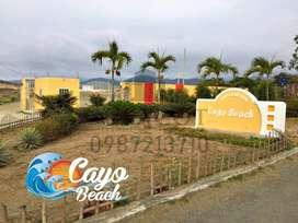 Lotes Playeros 0987. 213710, a 2 Horas de Guayaquil, Playa de Puerto Cayo Manabi, Ruta Spondylus, Solo Efectivo, S1