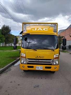 Jac modelo 2017 furgon carga seca