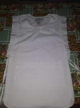 Vendo guardapolvo blanco