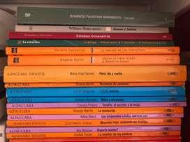Vendo libros escolares y de lectura