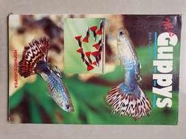 Libro sobre peces acuario gupys