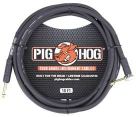 CABLE PIG HOG PARA GUITARRA BAJO  INSTRUMENTOS  TECLADOS ETC