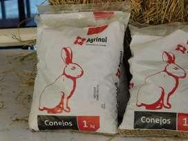 Nutrición para conejo