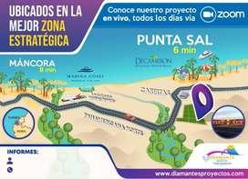 Tu casa en Punta Sal - Invierte en tu lote para negocio o vivienda
