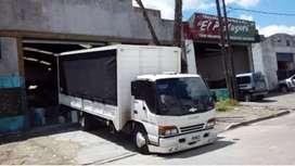 Fletes de todo tipo camión para 8 palet y 6 , f100 caja mudansera  ,miniflete