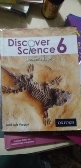 Discover science, step inside,  para sexto grado.