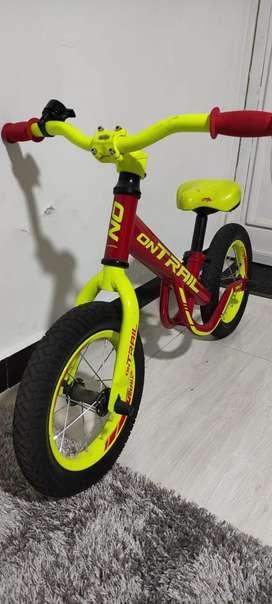 Bicicleta ontrail para niño