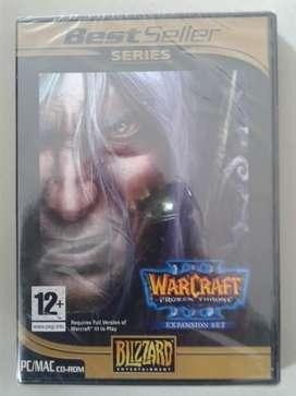 Warcraft Frozen Throne Expansion Set nuevo, sellado