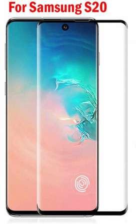 vidrio templado GLASS pantalla Full cover Samsung S20 Obelisco