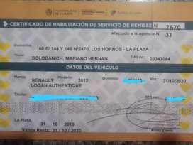 Habilitación de Remis de La Plata