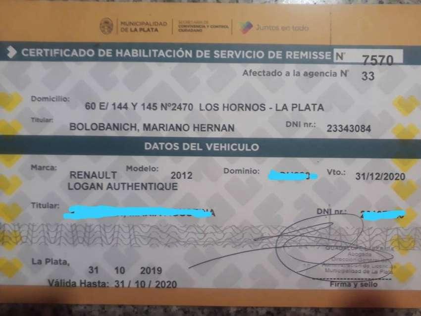 Habilitación de Remis de La Plata 0