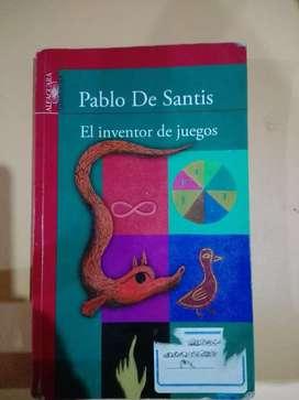 El inventor de juegos   Pablo de santis