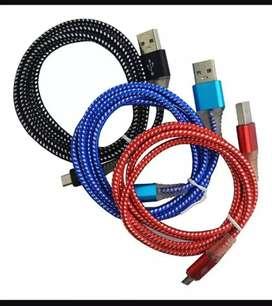 USB cordón residentes carga rápida