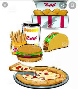 Busco empleo preparador de comidas rápidas