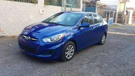 HYUNDAI ACCENT 2012 VERSION AMERICANA PARA INSCRIBIR