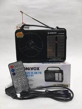 Radio sonivox, ref VS-247 NUEVO Y GARANTIZADO.