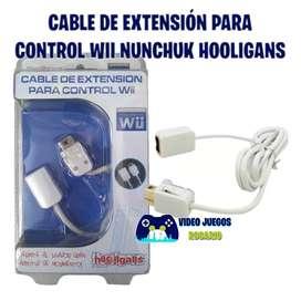 Cable de extensión para control Wii Nunchuk