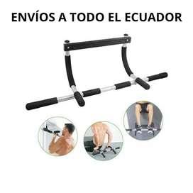 Iron Gym Entrenamiento Fitness en Casa Pull Ups Dominadas Máquinas Ejercicios Pesas
