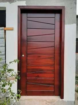 Puertas  de madera para principal  y interior