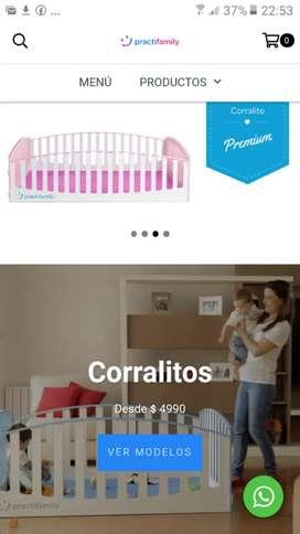 Corralitos para bebe