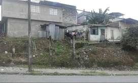 Vendo terreno de 260 m2 con casa de dos pisos y una casita a lado parte frontl terreno para conatruccion