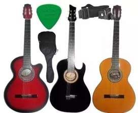 Guitarras acusticas forro colgante pua