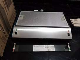 Vendo campana extractora en acero Haceb digital Empotrar y lámpara.