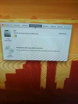 Computador iMac escritorio 2011/27 pulgadas