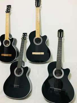 Guitarras acusticas con forro y metodo aprendizaje