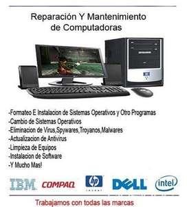 Instalación de sistema operativo y programas